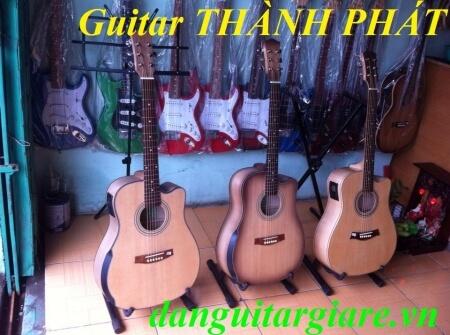 GUITAR GỖ MAPLE VÁT HÔNG