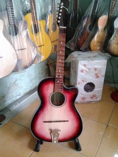guitar thùng phím lõm 413