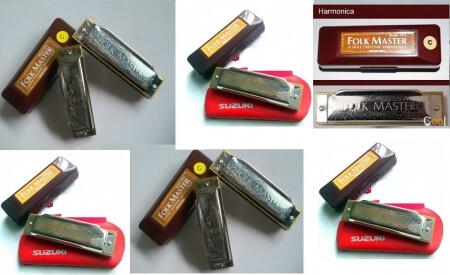 kèn harmonica Folk Master_10