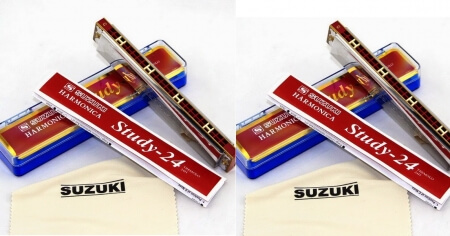 kèn harmonica study_24 suzuki